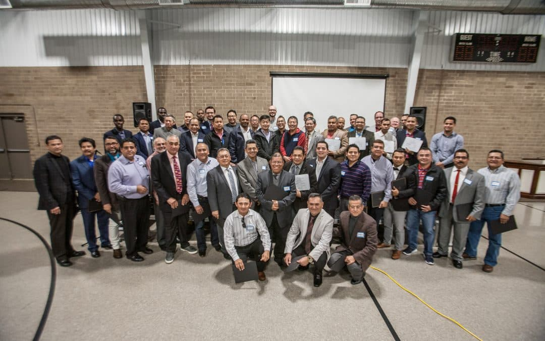 50+ new church planters commissioned at special service