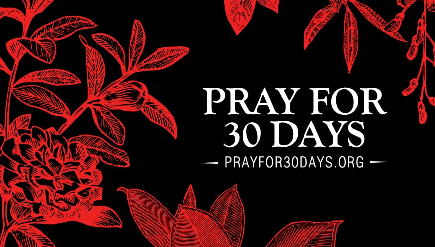 Event: Pray for 30 Days