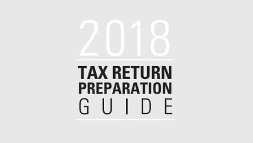 Resource: 2018 Tax Return Preparation Guide