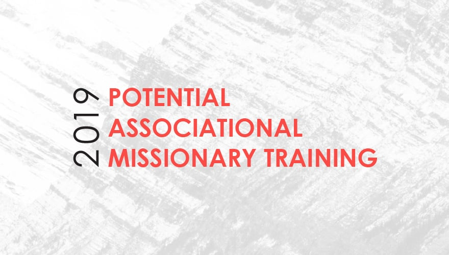 Event: 2019 Potential Associational Missionary Training