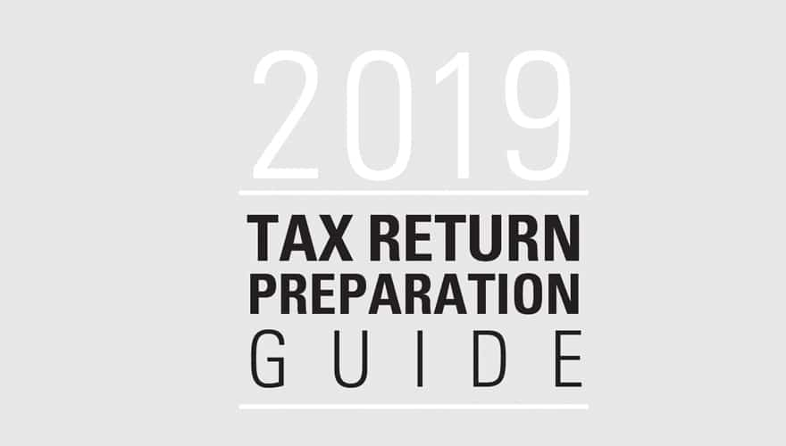 Resource: 2019 Tax Return Preparation Guide