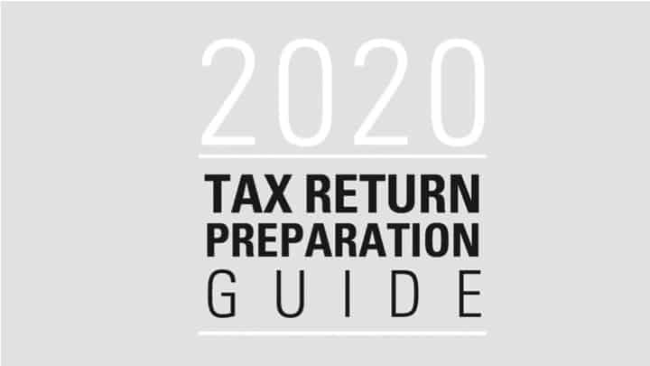 Resource: 2020 Tax Return Preparation Guide
