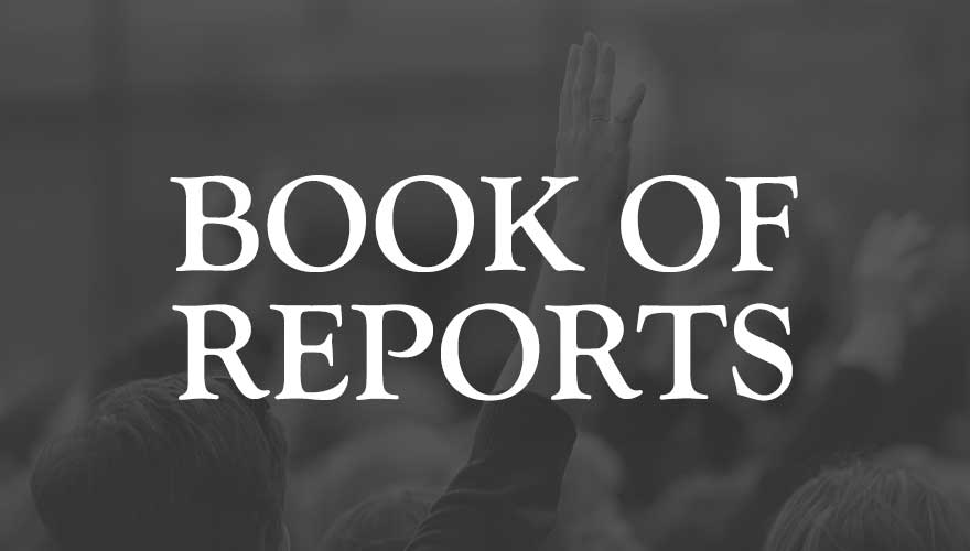 Resource: 2019 Book of Reports