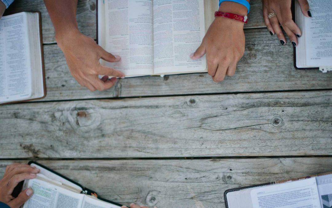 3 Circles: A guide for a five-touch, follow-up discovery Bible study with unbelievers