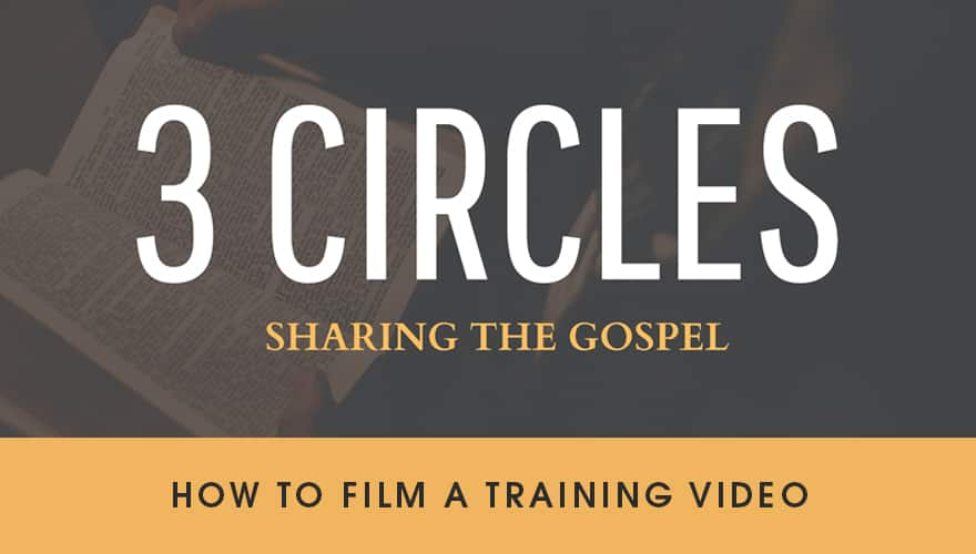 Resource: 3 Circles Filming Training Video
